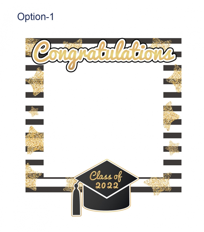 Graduation Frame 4 Small Size Party Box