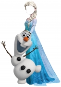 Elsa Cut Out Stand