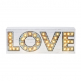 Party Illuminations Love Sign With 40 Led Lights