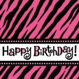 Fabulous Happy Birthday Napkins