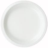 White Dinner Paper Plate