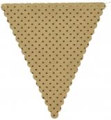 Kraft Polka Dot Bunting