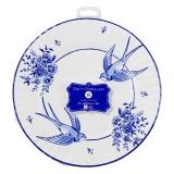 Party Porcelain Blue Paper Plates