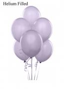 20 Helium Pastel Lilac Latex Balloons