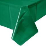 Emerald Green Plastic Table Cover