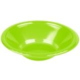 Fresh Lime Heavy Duty Plastic Bowls