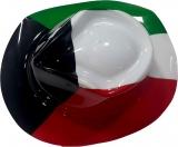 Kuwait Flag Plastic Hat