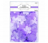 Butterfly Flower Fabric Lilac Confetti