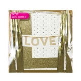 Say It With Glitter Love Banner
