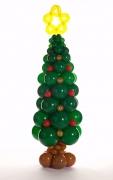 Christmas Tree Balloon Pillar