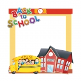Back to School Frame 1 Small Size