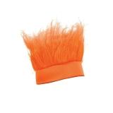 Orange Crazy Hair Headband