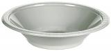 Shimmering Silver Heavy Duty Plastic Bowls
