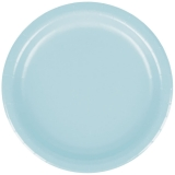 Pastel Blue Dinner Paper Plate