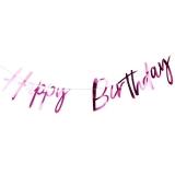 Hot Pink Happy Birthday Bunting