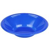 Cobalt Plastic Bowl