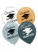 Congrats Graduate Printed Latex Balloons