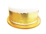Cake Decoration Gold Band