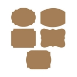 Writable Kraft Paper Adhesive Labels