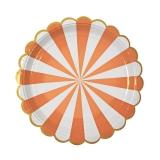 Toot Sweet Orange Large Plates