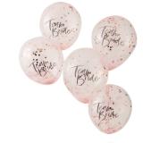Team Bride Confetti Balloons