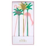 Flamingo Acrylic Cake Toppers