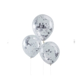 Confetti Silver Pick And Mix Balloons