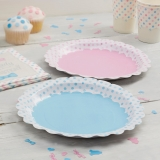 Little Lady or Mini Mister Plates