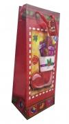 Christmas Designer Themed Wine Bag