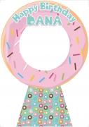 Happy Birthday Doughnut Frame