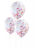 Multicolored Pick & Mix Confetti Balloons