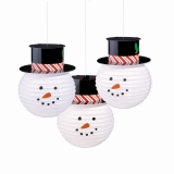 Snowman Lanterns
