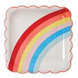 Rainbow Large Plates