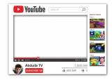 Youtube Frame Medium Size
