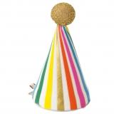 Rainbow Birthday Mini Hat