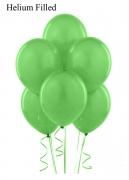 20 Helium Pastel Green Latex Balloons