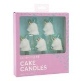 Unicorn Cake Candle