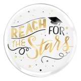 Reach for the Stars Graduation Round Platter