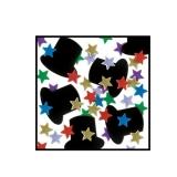 Metallic Top Hats and Multi Stars Confetti