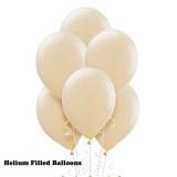 20 Helium Latex Balloons Satin Pearl Ivory