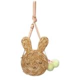 Bunny Straw Bag