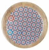 Large Moroccan Mango Plate