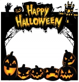 Halloween 2020 Frame Medium Size