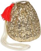 Gold Sequin Bag
