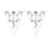 Wedding Bells Pennant Banner