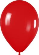 Metallic Red Latex Balloon