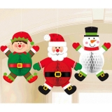 Christmas Characters Hanging Decorations