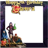 Descendants Theme Frame Small Size