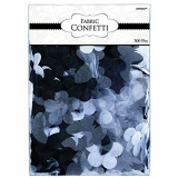 White Butterfly Flower Fabric Confetti
