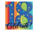 A Year To Celebrate Happy Birthday-18 Beverage Napkins